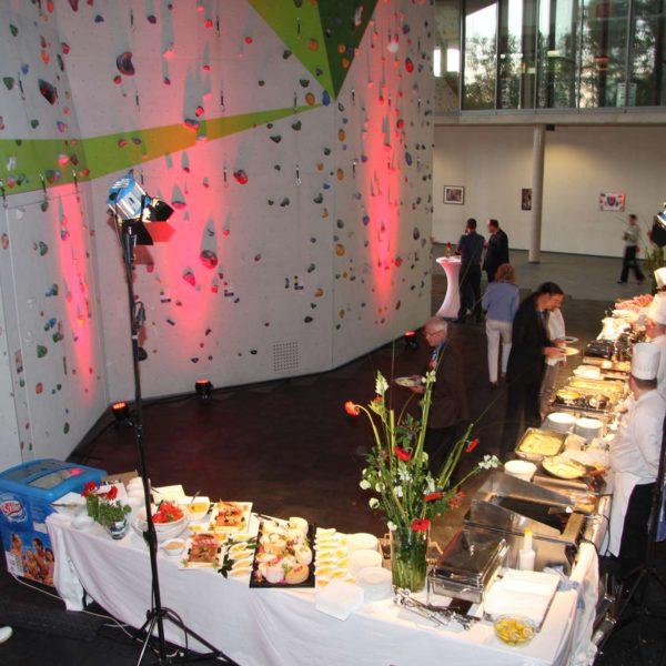 Catering in der Halle
